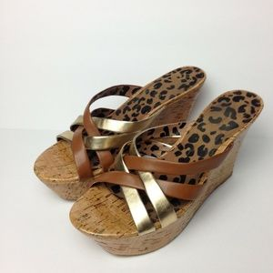 Jessica Simpson Wedged Open Toe Sandal